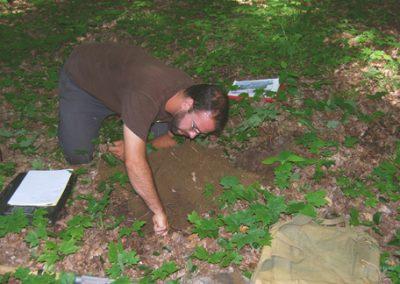 Louis Lefebvre, agronome. Caractérisation du sol. Projet d'implantation de ginsengs à cinq folioles.